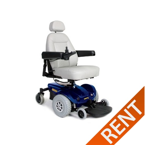 Power Chair with Captain Seat