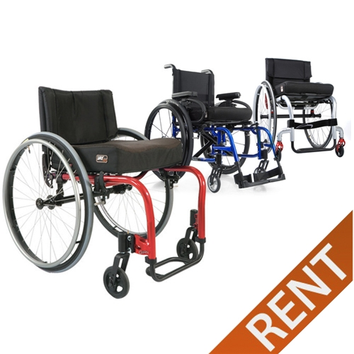 Ultralight Quickie and Rigid Wheelchair Rental
