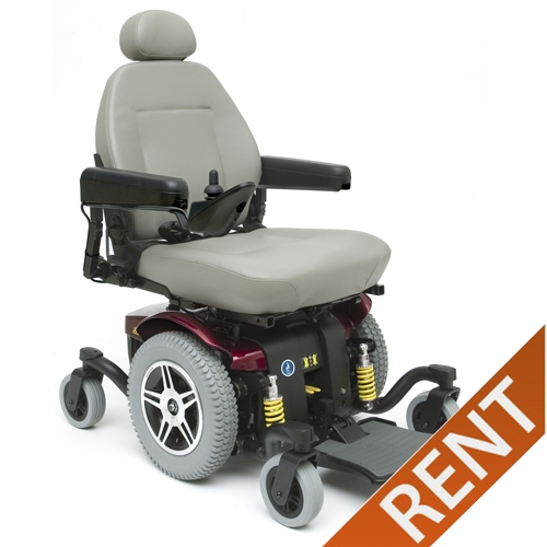 Pride Jazzy 614 HD Heavy Duty Power Wheelchair Rental