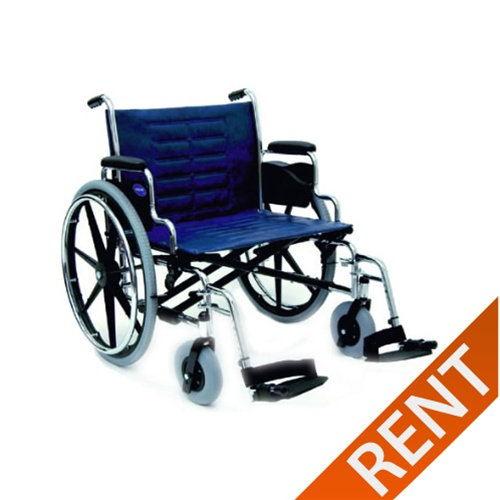 Invacare T4 Extra Heavy Duty Wheelchair (450 lb.)