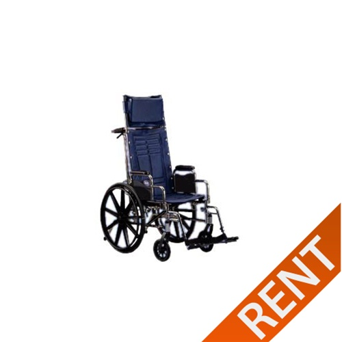 Invacare TRSX5RC Reclining Wheelchair